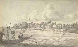 The town of Serajpur on the Ganges (U.P.). 6 September 1803